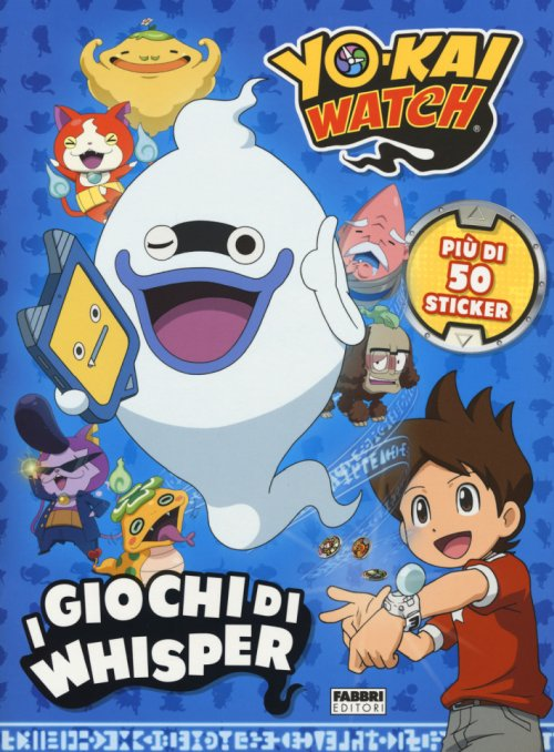 I giochi di Whisper. Yokai Watch