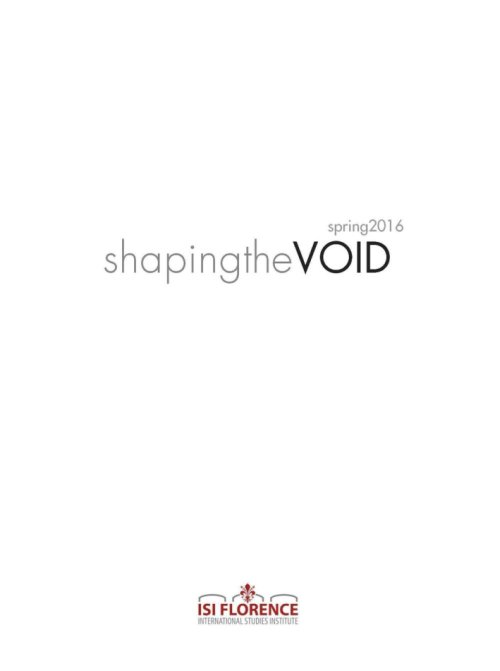 Shaping the VOID. Spring 2016